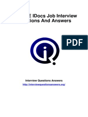 SAP-ALE-IDocs-Interview-Questions-Answers-Guide pdf | Software