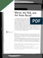 Merck the FDA and the Vioxx Recall