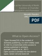 Open Access Presentation