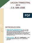 EVALUACION TRIMESTRAL 2014.ppt