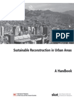 Sustainable Reconstruction in Urban Areas