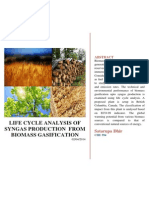 LCA study Biomass in Canada