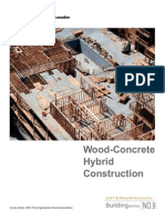 Wood Concrete Hybrid Construction