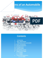 Mechanisms of an Automobile