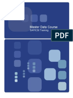 Sap Mm Master Data Work Instructions for Key Users
