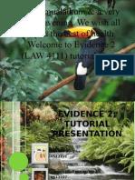 Evidence 2 Tutorial Presumption of Death