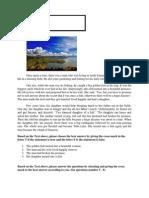 Narrative Text of Toba Lake