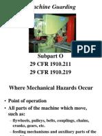 OSHA Machine Safeguarding