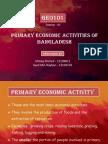 GEO101 - Primary Activities of Bangladesh (Sec - 02)