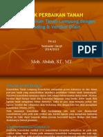 Materi Teknik Perbaikan Tanah (Preloading+Vertikal Drain).pdf