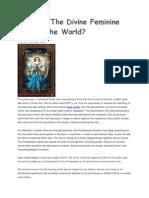 What if the Divine Feminine Healed the World