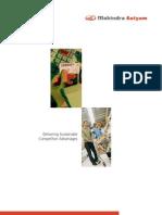 Mahindra Satyam - Retail & CPG Practise