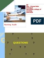 Nursing Audit