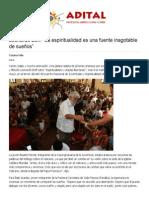 """Adital - Leonardo Boff_ """"La espiritualidad es una fuente inagotable de sueños"""".pdf"""
