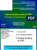Achieving Quality in Auditing Executing Projects in Global and Us Only Environments