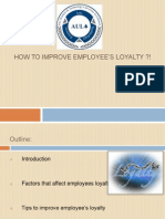 Loyalty-Ppt