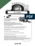 Connaître - Le castor.pdf
