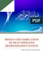 Solar Absorption Refrigeration