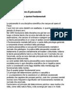 Riassunto Brenner-Breve Corso Di Psicoanalisi, Giunti, 2001