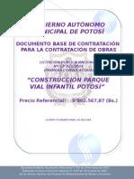 Especificaciones Tecnicas Paruq vial infantil.doc