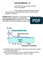Risk Return Diversification