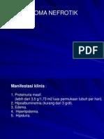 Kuliah IPD Sidroma Nefrotik - Dr. Wachid Putranto, SpPD