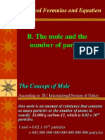3B the Mole and the Number of