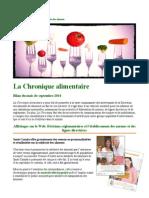 Food Times - Septembre 2014