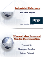 Women Labor Force & Gender Discrimination