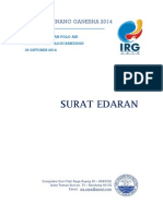 IRG 2014 - Surat Edaran
