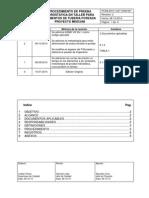 PCAB-2012 1247-CSM-007 PROCEDIMIENTO DE PRUEBA HIDROSTATICA EN TALLER PARA ELEMENTOS DE TUBERIA FORZADA PROYECTO MISICUNI REV 2.pdf