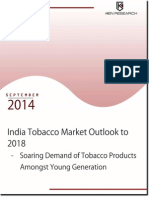 India Tobacco Market Outlook to 2018