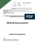 Didactica Matematicii - Monica Purcaru