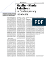 ISIM 4 Muslim-Hindu Relations in Contemporary Indonesia