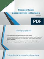 Reprezentanții Pașoptismului În România