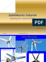 Solid Works Tutorial-Making Wind Turbine Blade