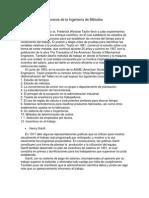 Pioneros de la Ingeniería de Métodos.docx