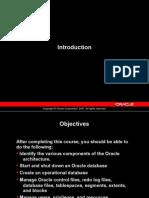 Oracle Database Architecture