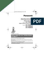 Panasonic KX-TG8051 Guide