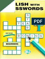 English With Crosswords 1 - Beginner.pdf