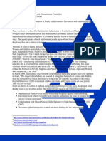 Sochum Israel Position Paper, BRAINWIZ MUN Dhaka Council