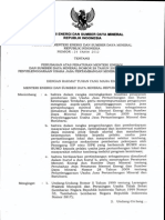 Permen ESDM Nomor 24 Tahun 2012