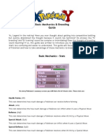 Pokémon (XY) Basic Mechanics and Breeding Guide