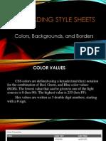 css- colorsbackborders