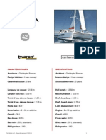 Specifications c42 c 2013
