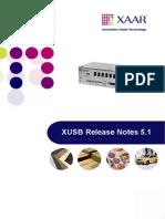 XAAR Notes V5.1