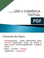COESÃO E COERÊNCIA  TEXTUAL Prafor.ppt