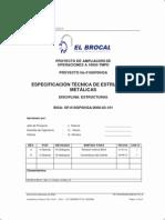 Especificacion de estructuras metalicas.pdf