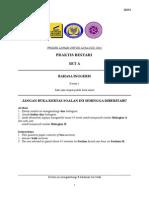 JUJ Pahang SPM 2014 English K1 Set 1