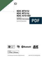 Kdc Bt31 Bt41 4751sd English
